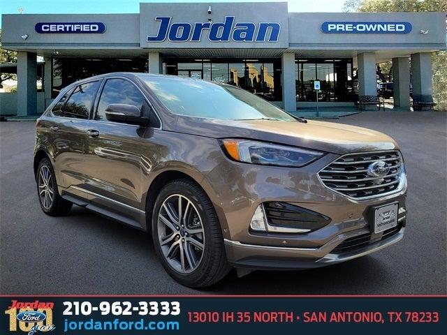 Ford Edge Titanium In San Antonio Tx Jordan Ford