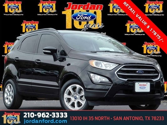 Ford Dealer San Antonio >> 2019 Ford Ecosport Se